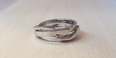 Witgouden ring goudsmid arnhem juwelier